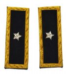 Union Brigadier Generals Coat Shoulder Boards Insignia
